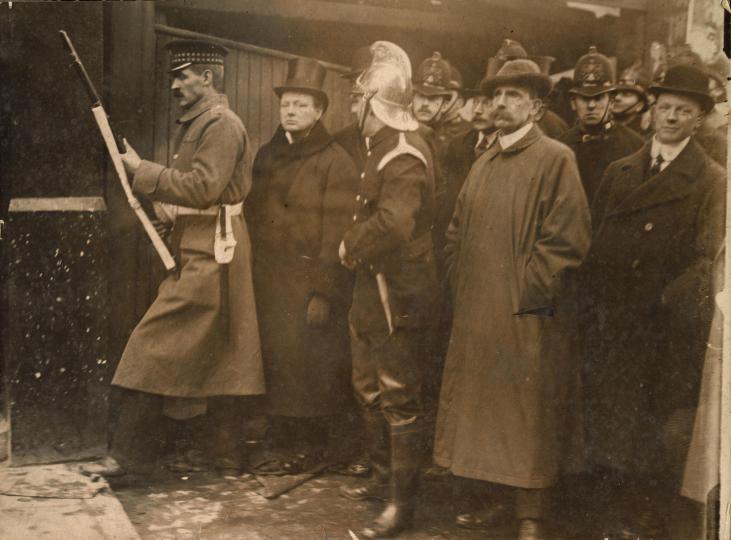 Winston-Churchill-Sindey-Street-Whitechapel