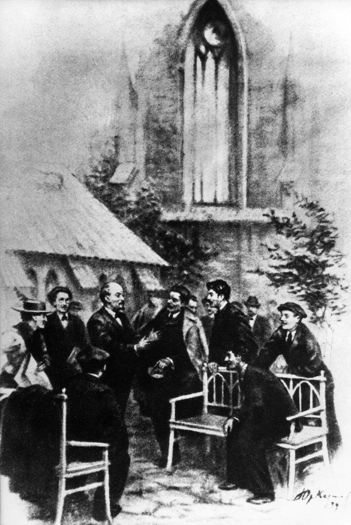 Lenin-Gorki-Stalin-konferencja-Partia-Pracy-Whitechapel-Londyn-1907