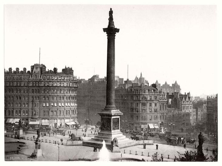 Trafalgar-Square-19-wiek-Londyn