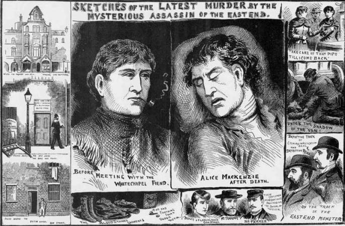 gazeta-Alice-Mackenzie-morderstwo-Whitechapel-Londyn
