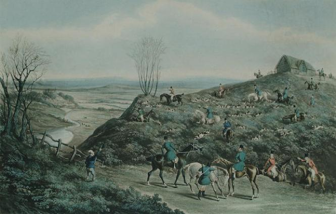 hare-hunting-soho-WP-Hodges-1836