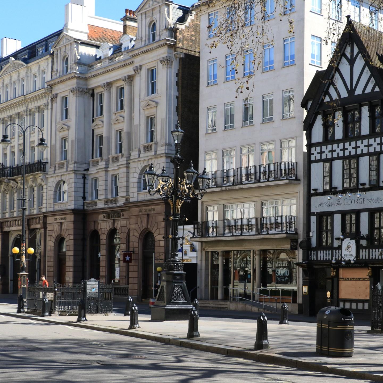 Londyn 200 lat później. Wiktoriańskie zdjęcia odnalezione na mapie współczesnej stolicy.