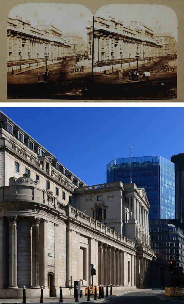 Bank-of-England-Londyn-kiedyś-i-dziś