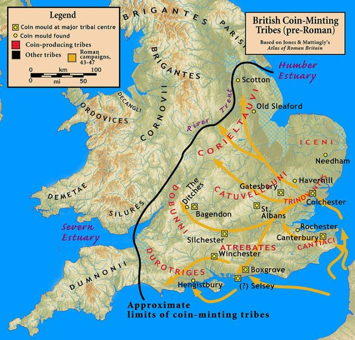 Londinium-pre-Roman-celtic-tribes