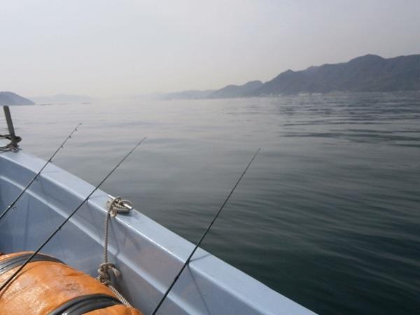 カレイ釣りは沖でも