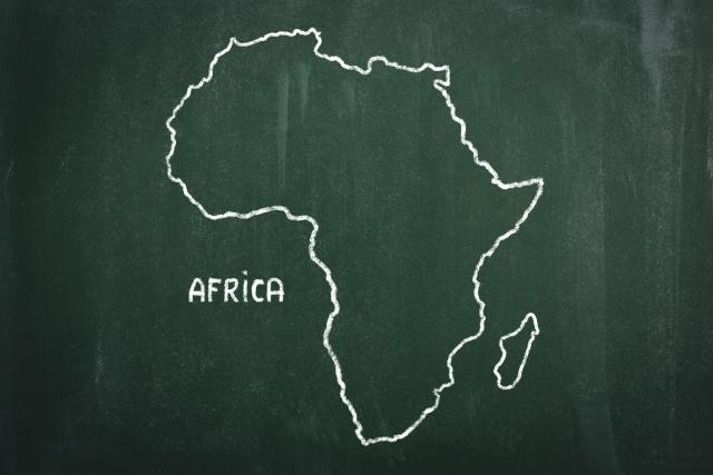 アフリカンシクリッドの分布