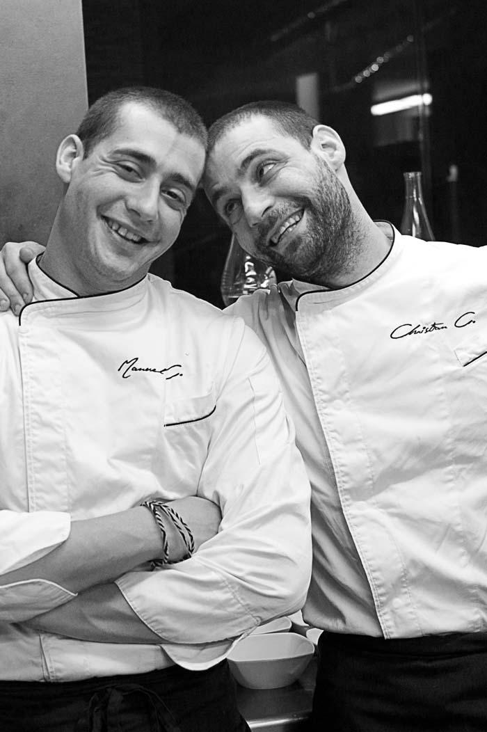 Christian e Manuel Costardi- Fish & chef- 2011 - Ambient Hotel Primaluna - Malcesine