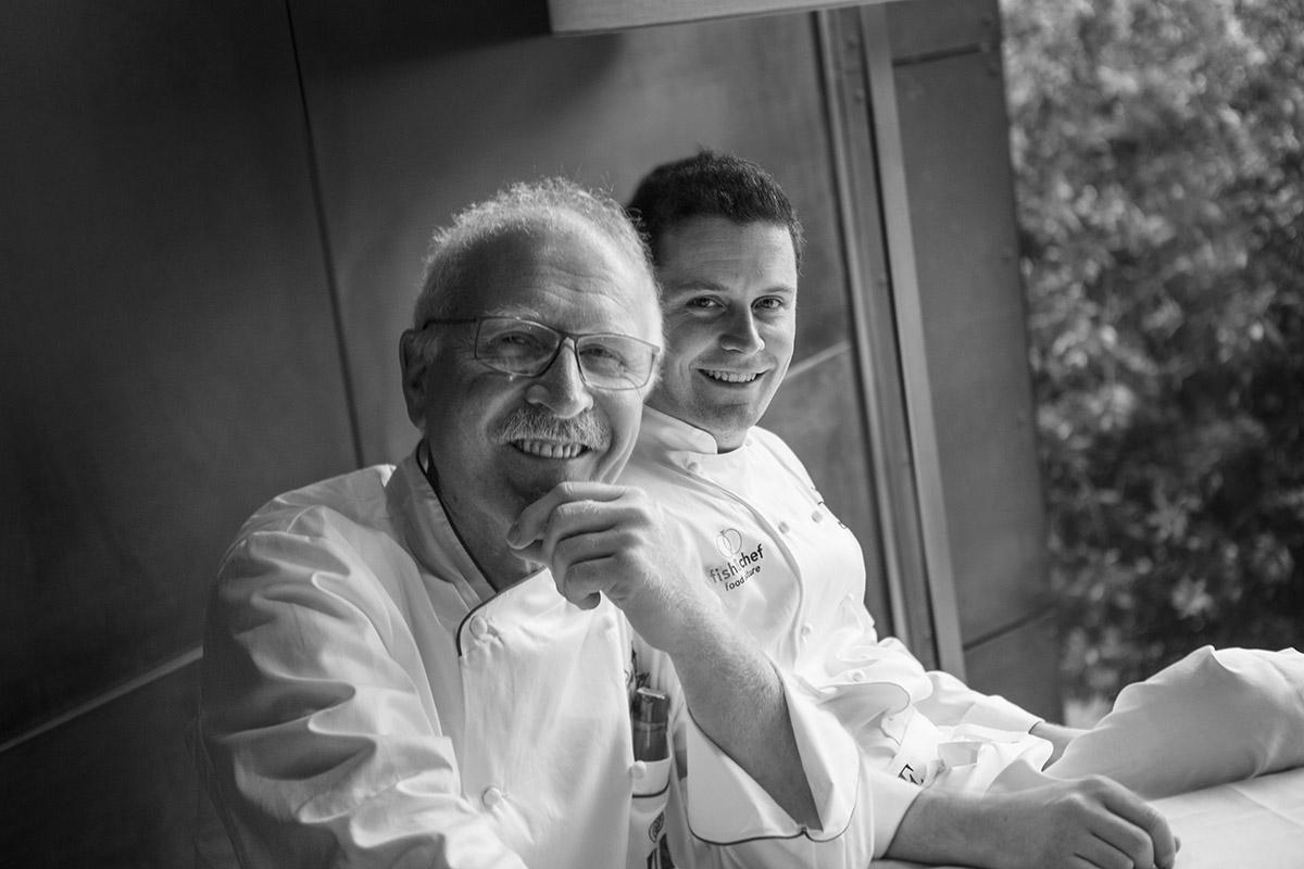 fish&chef edizione 2017 - gourmet sul lago di Garda - Antonio e Roberto Tonola