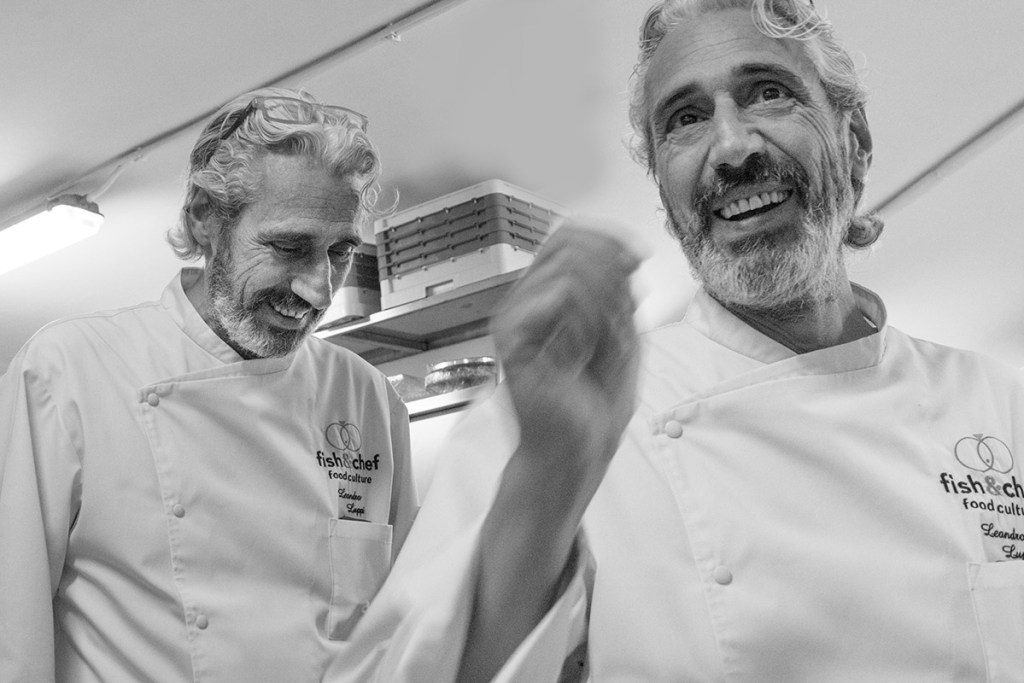 fish&chef edizione 2017 - gourmet sul lago di Garda - Dream Team - Leandro Luppi