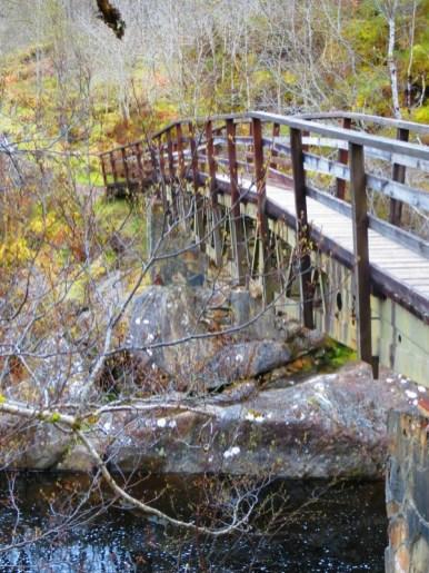 pont dans le Glen Affric