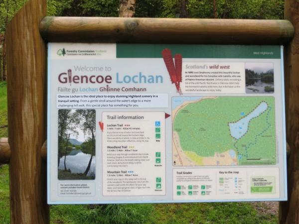 panneau glencoe lochan