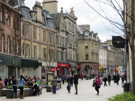 dans les rues de Stirling