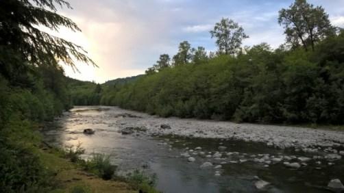 la Bogachiel River