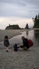 Ruby Beach - état du Washington