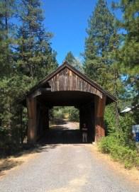 pont couvert à Trout Lake - état du Washington