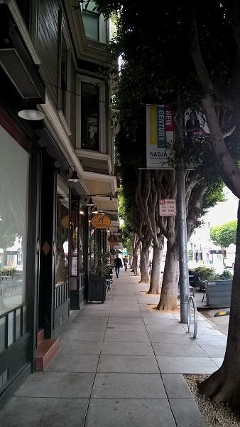 quartier de Hayes Valley à San Francisco