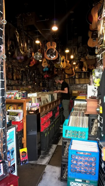 vinyle dans Little Italy - San Francisco