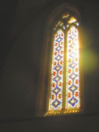 vitrail - Palais des Rois de Majorque à Perpignan