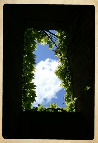 fenêtre - château de Biron en Dordogne