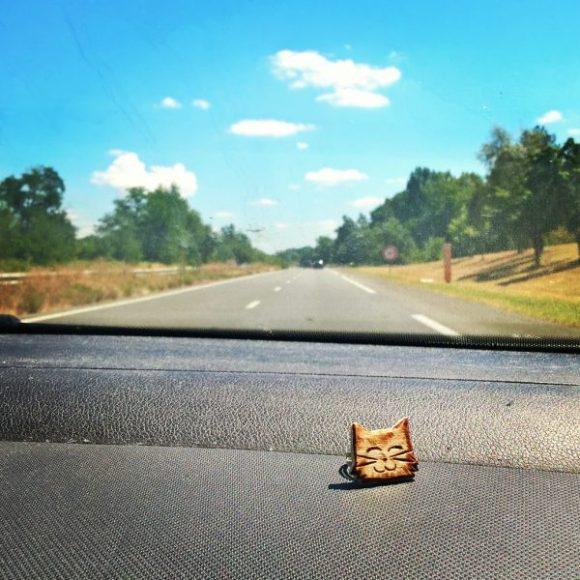 Début d'un long road trip