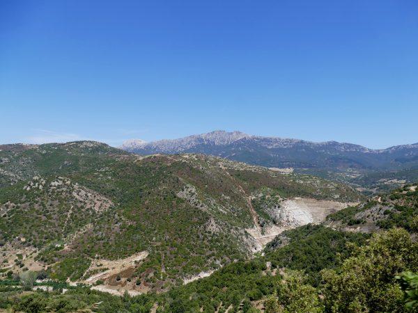 paysage de Barbagia