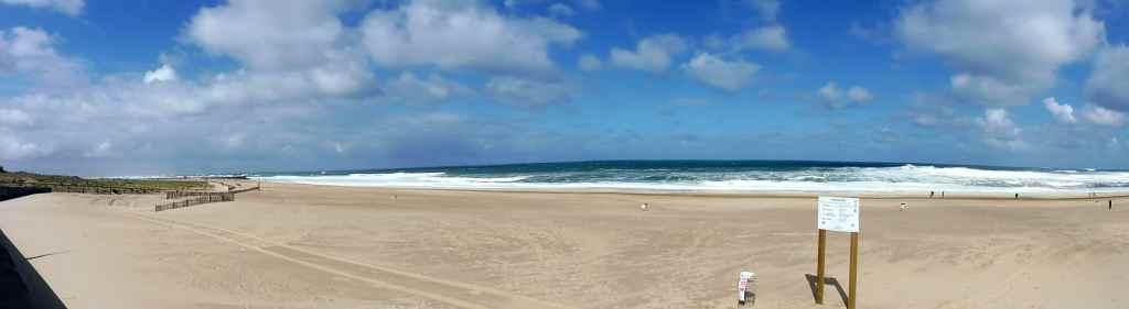 plage centrale - Soorts-Hossegor en panoramique