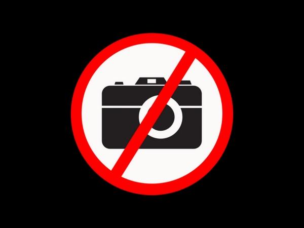 PHOTO FORBIDDEN