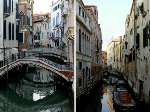 pont et canaux dans Venise