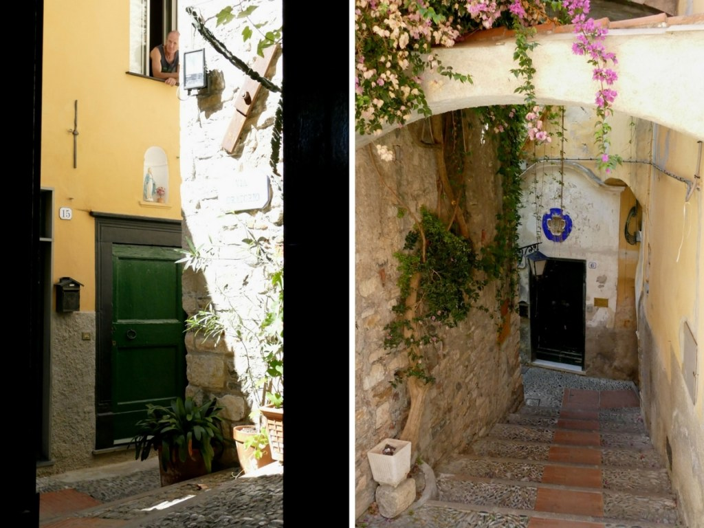 ruelles de Cervo - Liguria