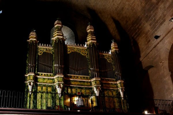 orgue de la cathédrale Saint-Etienne / Agde