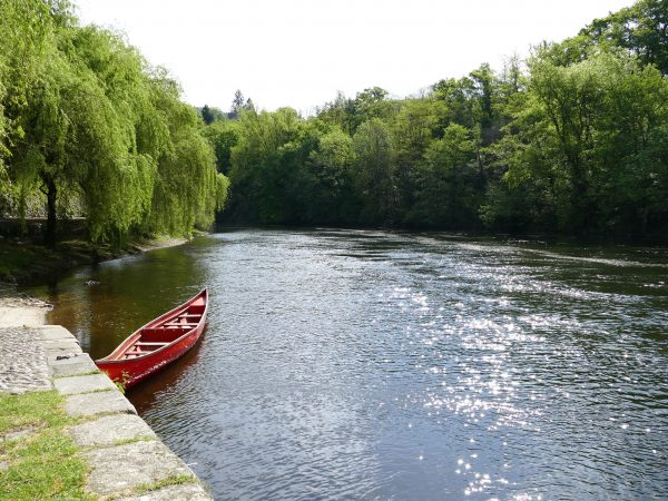 la Dordogne à Argentat