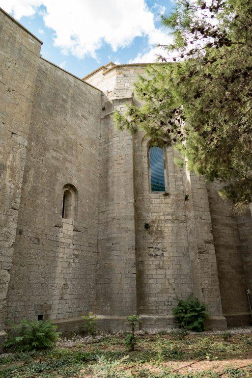 Visite de la catédrâle de Maguelone dans l'Hérault par Fish & Child(ren)