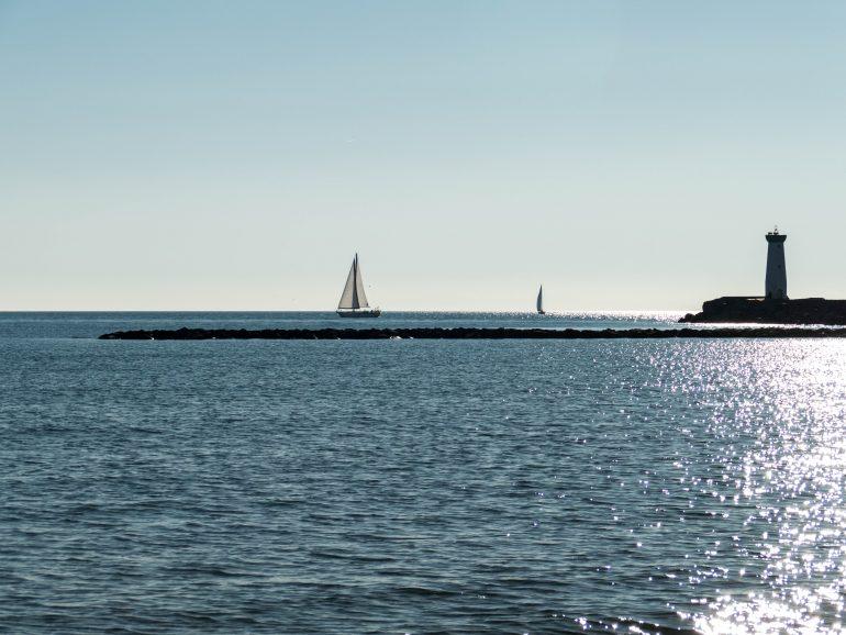 voilier au Grau d'Agde