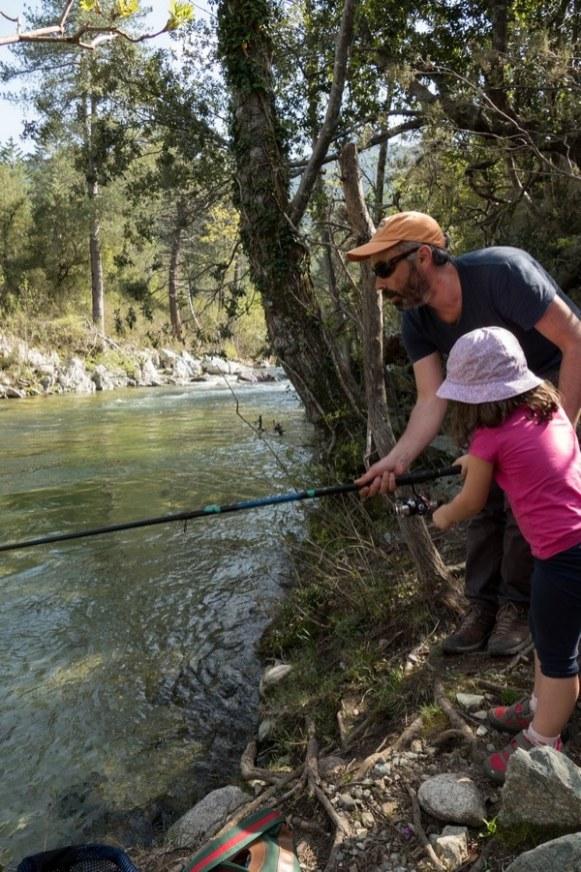 pêche dans le fiumorbo
