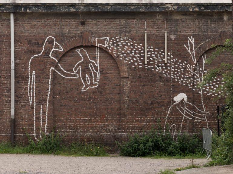 street art à la gare Saint-Sauveur - lille