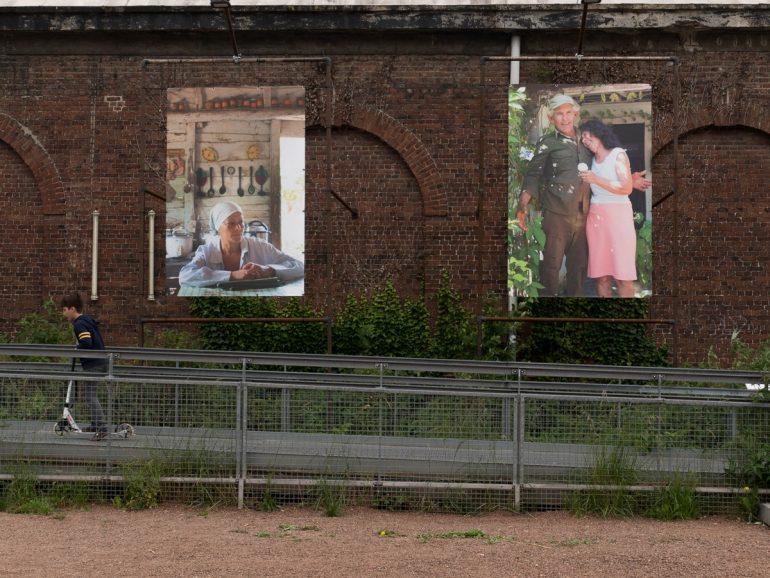 exposition à la Gare Saint-Sauveur