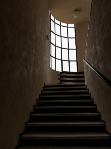 escalier de la villa cavrois