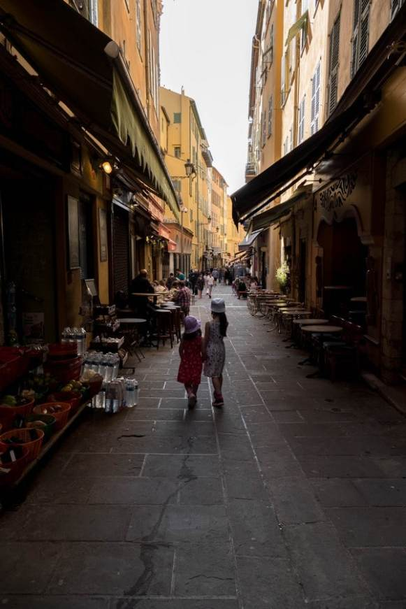 ruelle dans le vieux Nice