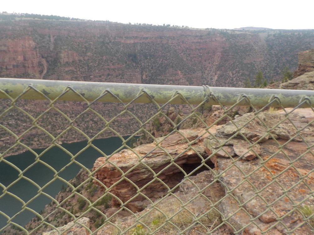 red canyon dans les flaming gorge