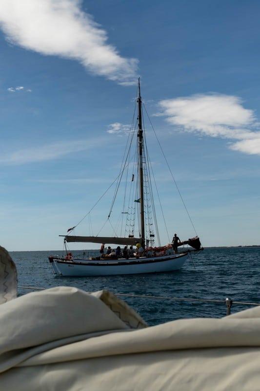 le draug - voilier à Sète