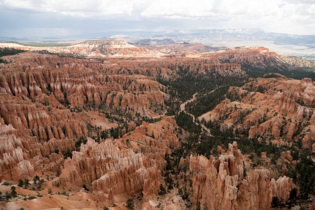 Inspiration point / bryce canyon national park
