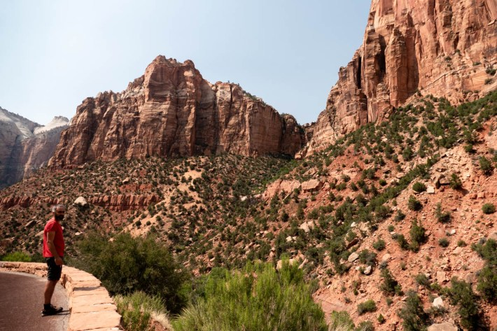 canyon overlook, Zion