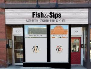 fish and sips store front