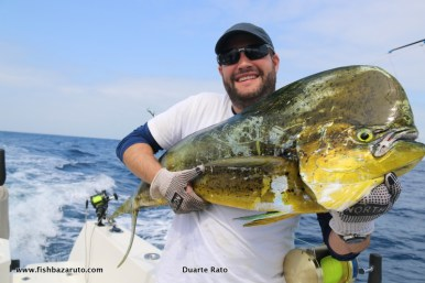 Whilst chasing Black Marlin, all sorts of other species are encountered, in the waters off Baz