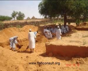 Desert aquaculture in Sudan Pond preparation (01)