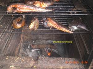 Fish smoking in Cameroon (02)