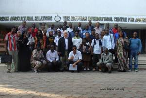 Small scale aquaculture training course (group picture)