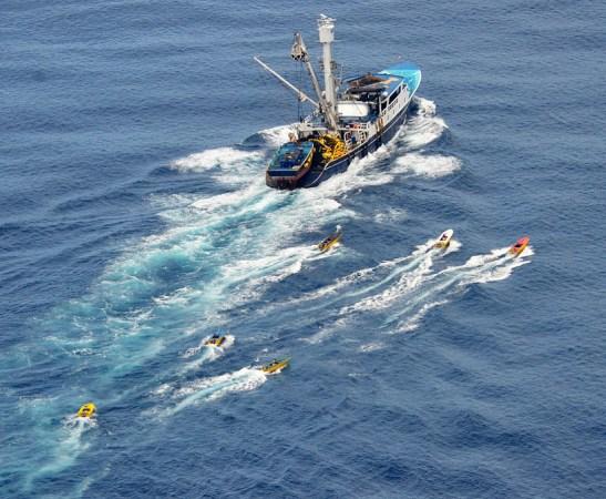 Commericial Tuna Boat