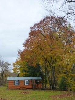 Autumn at Fish Creek Cabin Resort