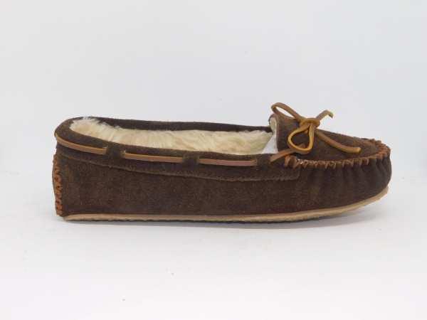 womens slippers cally chocolate 4012